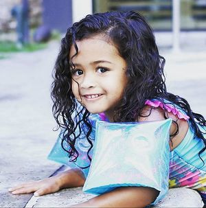 Chris Brown : Sa fille Royalty est adorable !