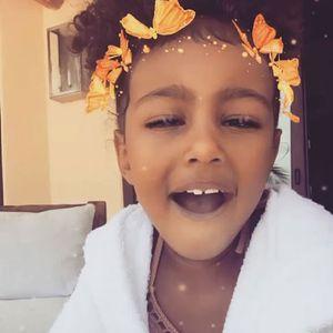 North West : La reine incontestée de Snapchat !