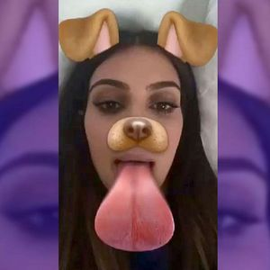 De Kim à Ariana : Quand les stars cèdent à la folie du filtre chien sur Snap !