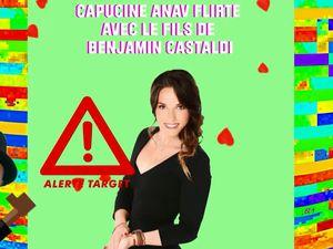 Capucine Anav flirte avec le fils de Benjamin Castaldi