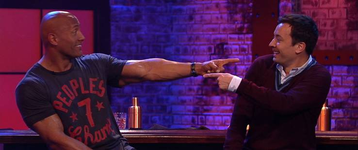 Lip Sync Battle : Dwayne Johnson VS Jimmy Fallon !