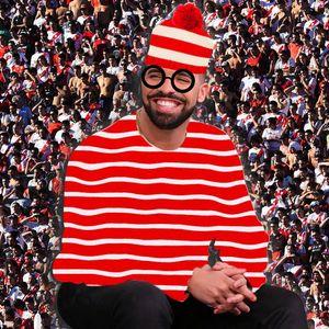 Trouvez où se cache Drake sur ces 16 photos !