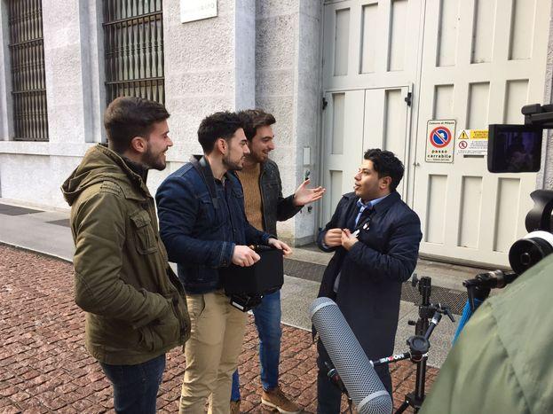 "Farid ha aiutato i theShow a ""prankare"" Milano"