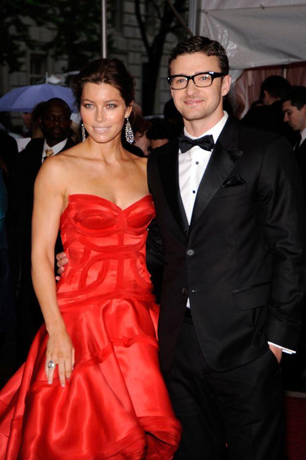 Jessica Biel e Justin Timberlake al Met Gala 2009