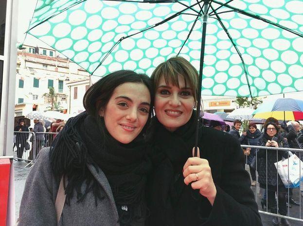 Il selfie di Valeria Farinacci con Paola Cortellesi