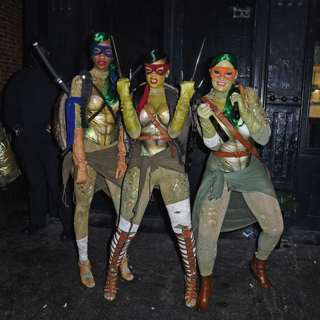 Quando si è travestita da Tartaruga Ninja... ed era ancora sexy!