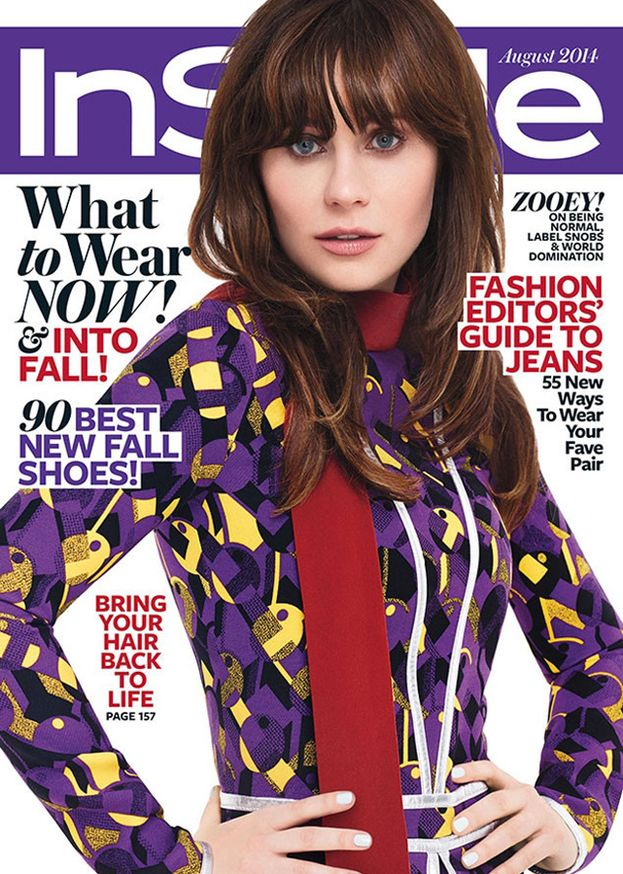 Zooey Deschanel - Sembra Jared Leto.
