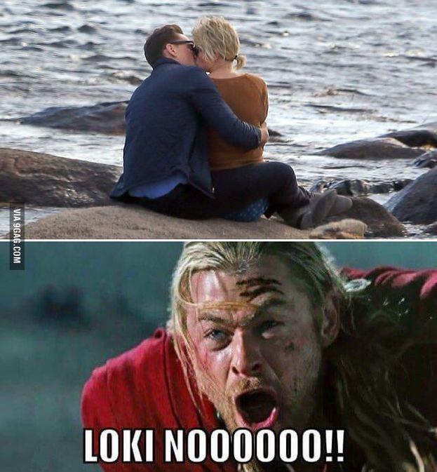 La storia fra Taylor Swift e Tom Hiddleston ha prodotto meme a raffica. Thor, per esempio, non era molto convinto...