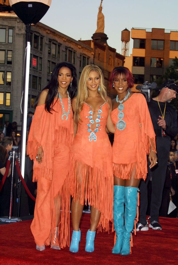 Le Destiny's Child nel 2001