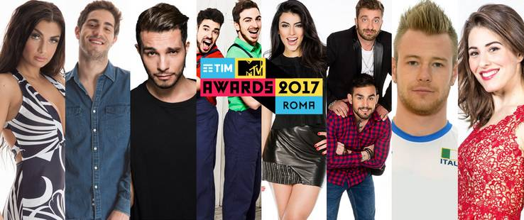TIM MTV Awards 2017: i presenter