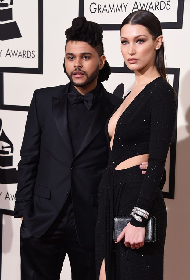Bella Hadid e The Weeknd ai Grammy Awards 2016