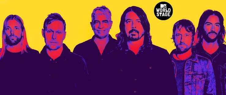 Foo Fighters Live From Barcelona il 22/09 su MTV Music (Sky 704) e il 24/09 su MTV (Sky 133) e NOW TV