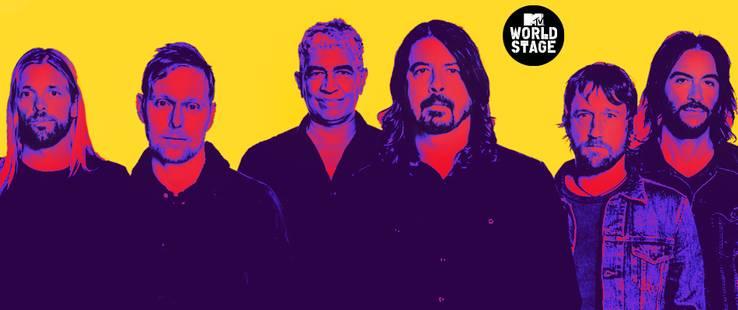 Foo Fighters Live From Barcelona il 22/09 su MTV Music (Sky 704) e il 24/09 su MTV (Sky 133) e NOW TV