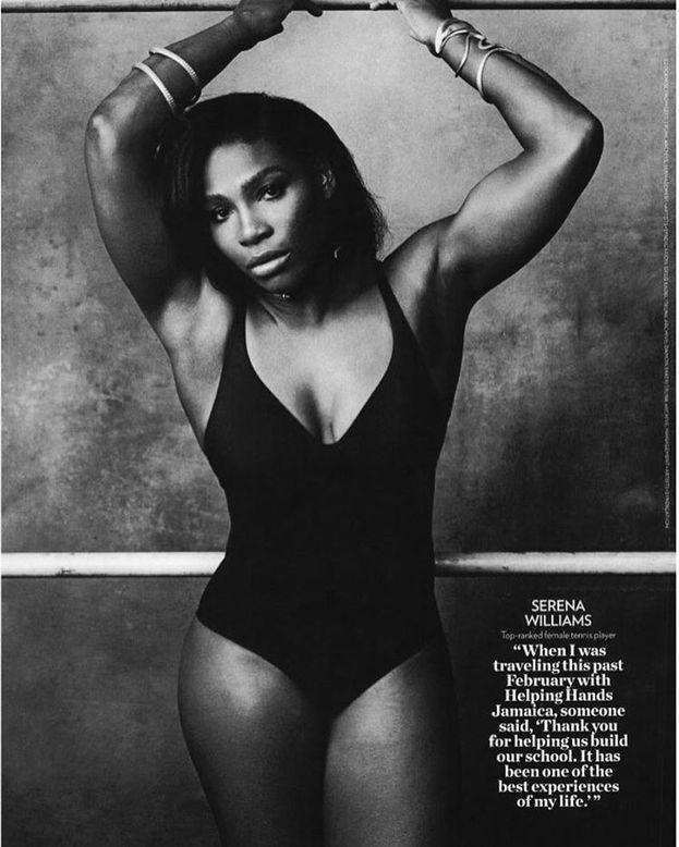 Serena Williams - Hanno un po' esagerato a ridurre il girovita.