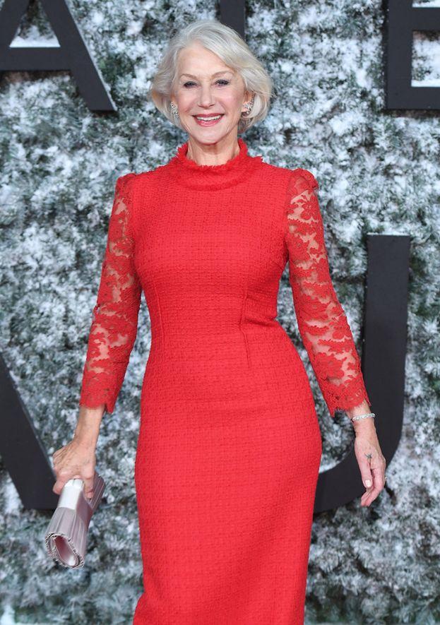Terza l'attrice inglese Helen Mirren, che ha passato i settanta ma conserva ancora la sua figura invidiabile da 95,6%.