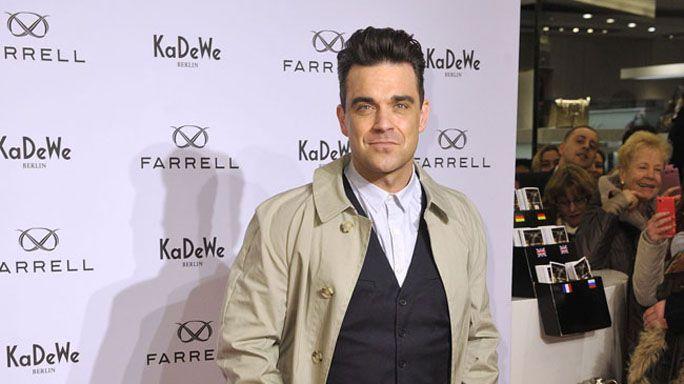 Robbie Williams inizia una dieta a base di succhi
