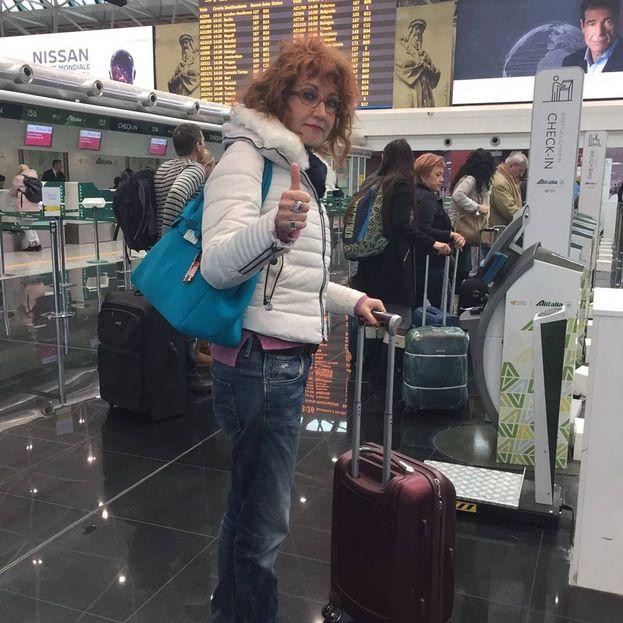 Fiorella Mannoia è andata a Sanremo in treno :)