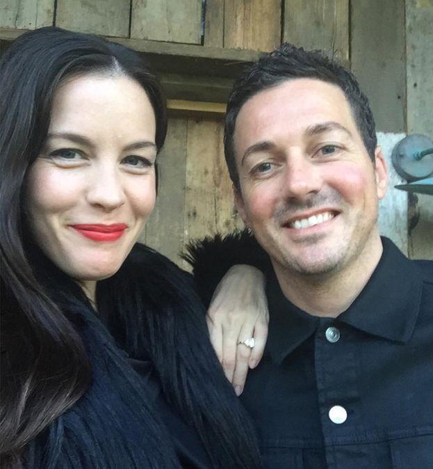 Liv Tyler e il fidanzato Dave Gardner