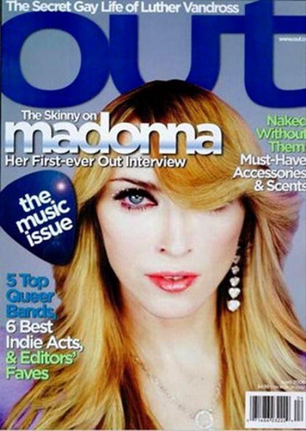 Madonna in versione alien.