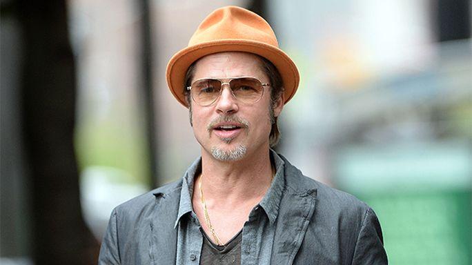 Brad Pitt visita 'Dismaland'