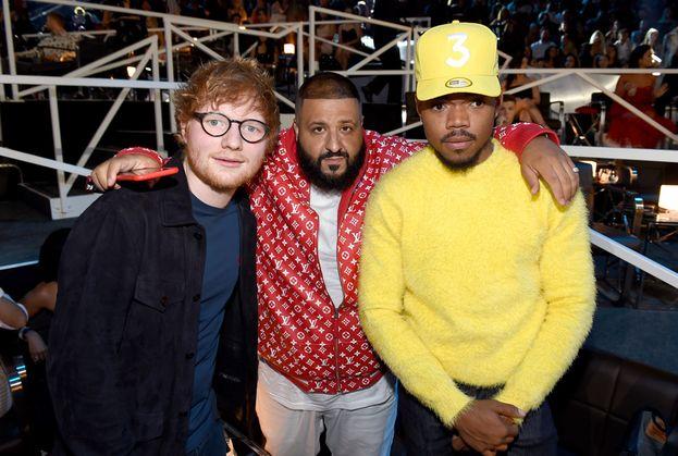 Ed Sheeran, DJ Khaled e Chance The Rapper