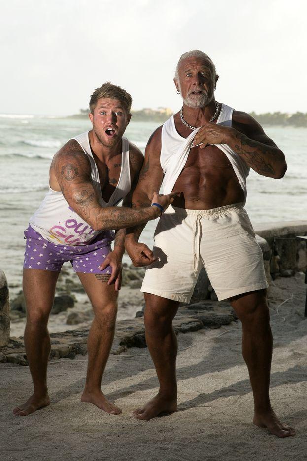 James e suo nonno Andy