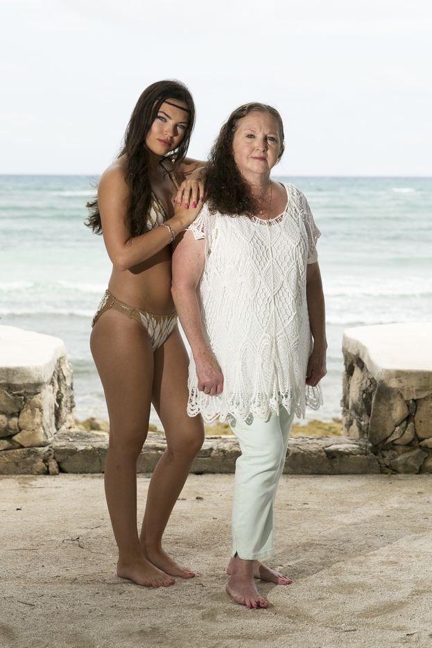 Ashleigh e sua nonna Mary