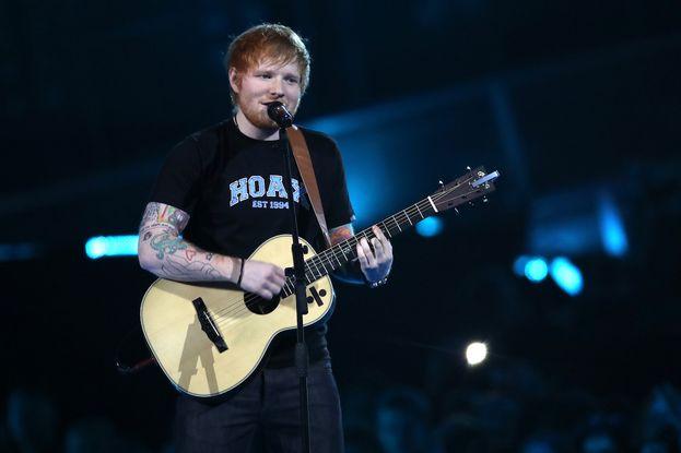 Ed Sheeran in tour