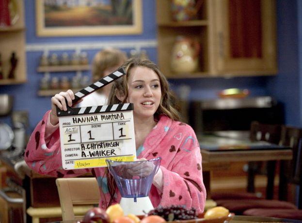 Ciak, si gira! Miley Cyrus sul set di Hannah Montana