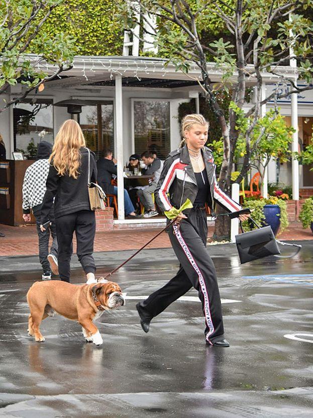 Grande amica di Paris Jackson, ecco un'altra figlia d'arte camminare con il suo cane: Sofia Richie con il dolce Roscoe Hamilton