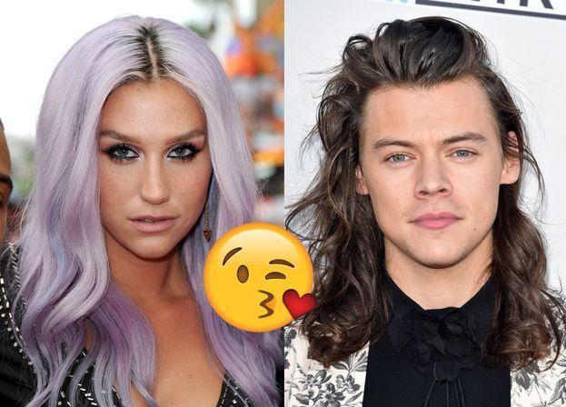 """Kesha ha detto che Harry è bellissimo e ha aggiunto che """"i suoi capelli profumano di rose e lozioni tropicali mischiate con farfalle"""". E come fa a saperlo?"""