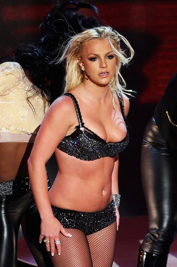 Britney ha avuto alti e bassi: nella sua esibizione ai VMA 2007 non era proprio al top...