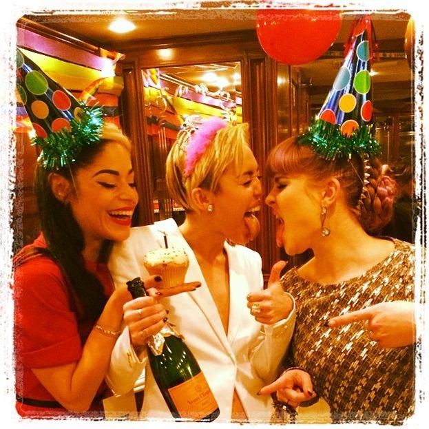 Miley Cyrus e Kelly Osbourne