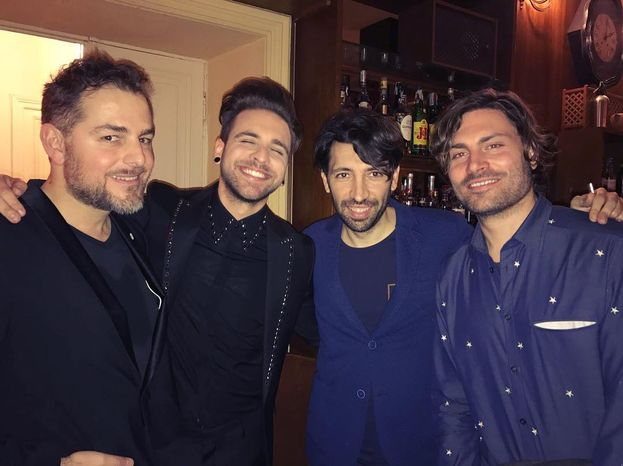 Alesio Bernabei & friends: li riconosci? ;)