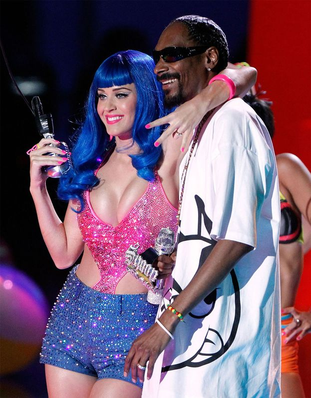 Katy Perry, cantante con cui Snoop ha pure duettato