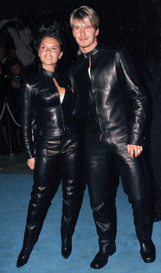 Victoria e David Beckham - 1999