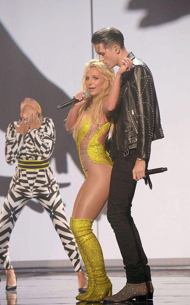 Britney ha duettato con il rapper G-Eazy.