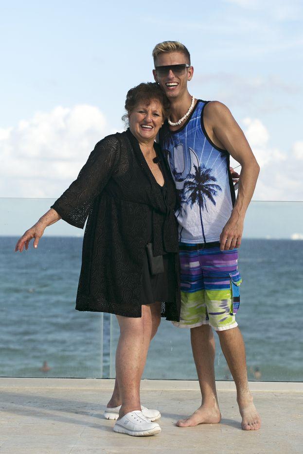 Kyle e sua nonna Sophie