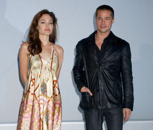Brad Pitt e Angelina Jolie - 2005