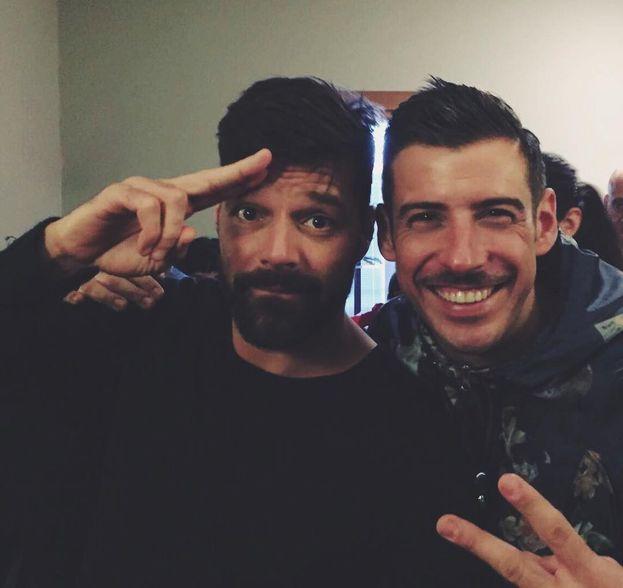 La strana coppia: Francesco Gabbani e Ricky Martin