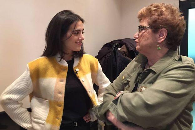 Valeria Farinacci ascolta Mara Maionchi, che è sempre la cosa giusta da fare