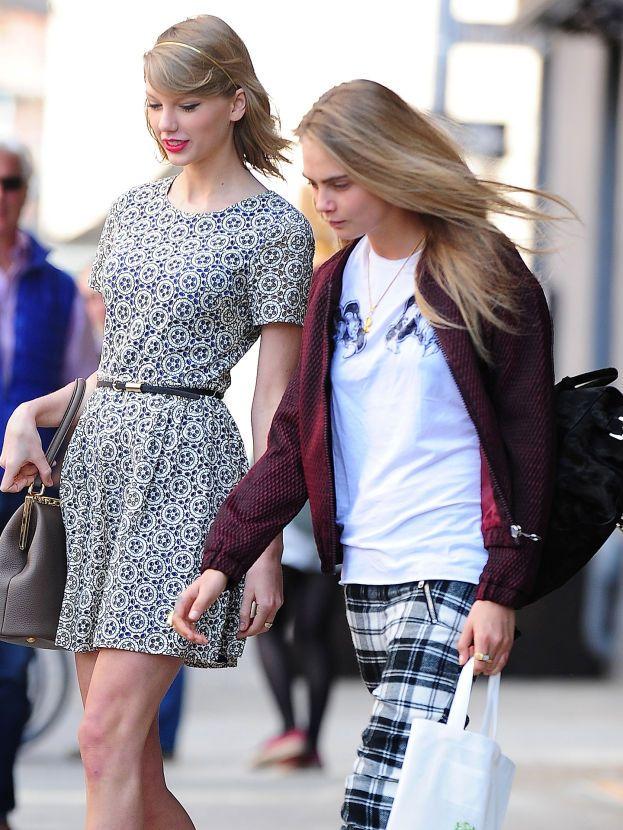 Cara Delevingne e Taylor Swift
