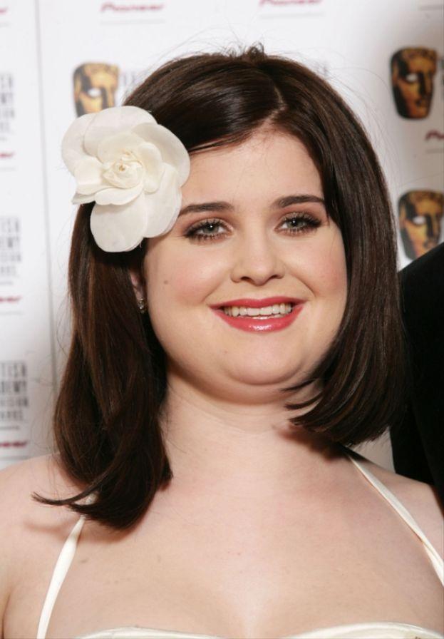 Kelly Osbourne, la figlia di Ozzy, qualche anno fa...