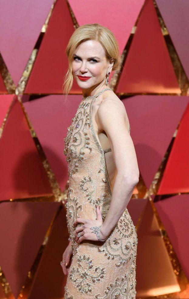 """Nicole Kidman ha avuto un'esperienza che le ha fatto cambiare idea sui ritocchi: """"Ho provato il Botox, purtroppo, ma è passata e adesso riesco finalmente a muovere la faccia""""."""