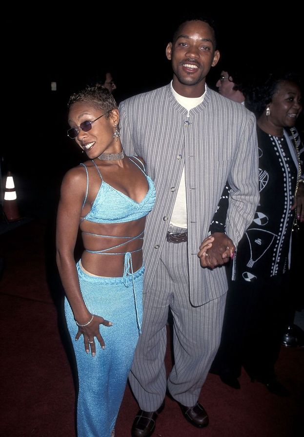 Jada Pinkett e Will Smith - 1995