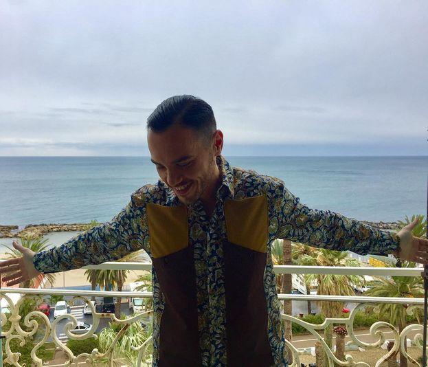 Raige sembra a Sanremo in vacanza :)