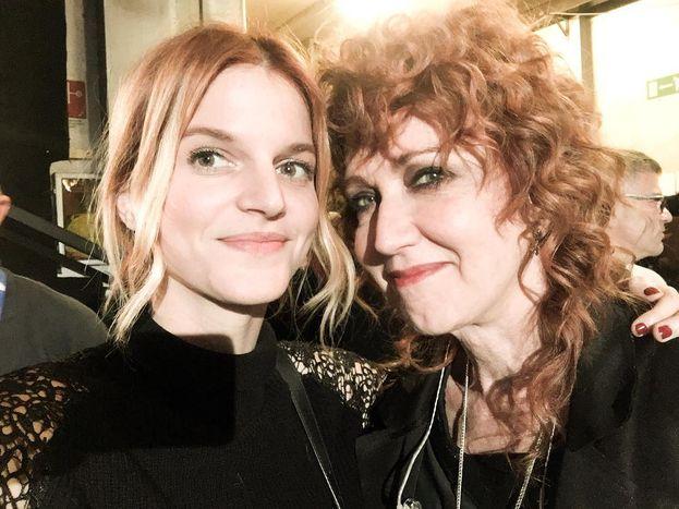Chiara e Fiorella Mannoia, quanta classe in una foto ;)