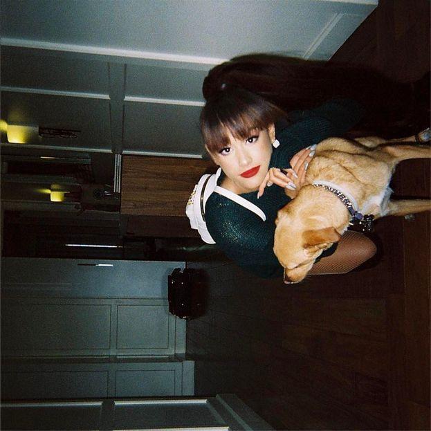 Ariana Grande e Toulouse: la star pubblica tantissime foto del suo adorato cane