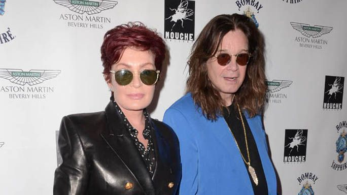Sharon e Ozzy Osbourne spiano i vicini