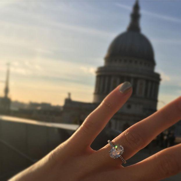 Ed ecco l'anello. Non male, non male!